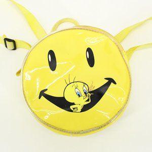 Vintage 90's Smiley Face Tweety Bird Backpack